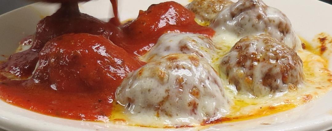 Rizzo's Meatball Parmigiana
