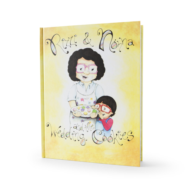 """Rizzi & Nonna and the Wedding Cookies"" Children's Book"